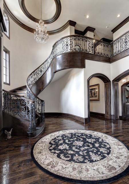 Interior Living mediterranean-staircase
