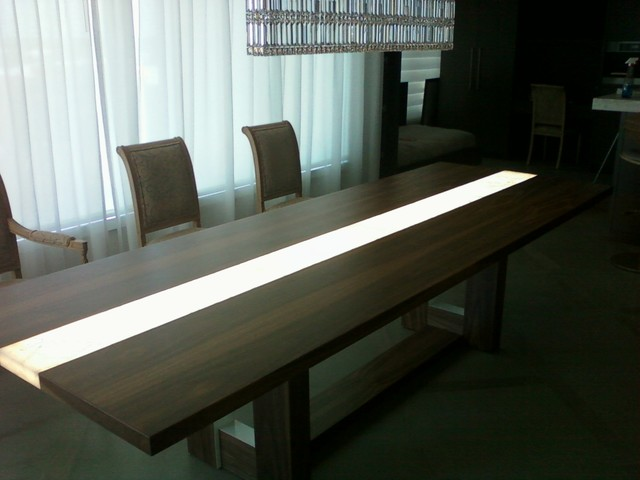 Genial LED Conference Table Modern