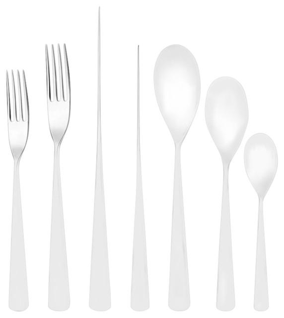 studio william welch karri mirror cutlery set 24 piece contemporary