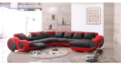 Tosh Furniture Sectional Sofa Fabric Ashley