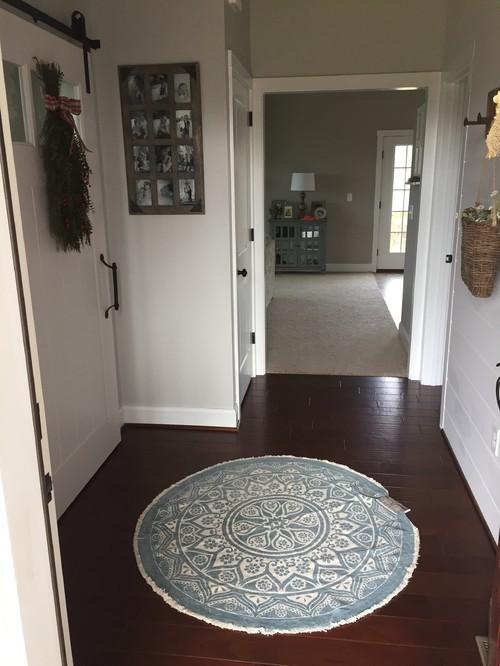 Houzz Foyer Rug : Entryway rug help