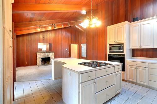 wood paneling update ideas - Kitchen Paneling Ideas