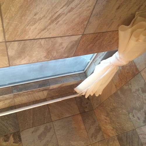 How To Install Shower Curtain Rod Into Ceramic Tile