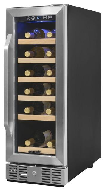 Newair Compact 19 Bottle Compressor Wine Cooler.