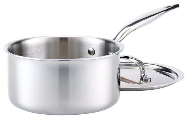 Hammer Stahl Sauce Pan With Cover, 2.75-Quart.