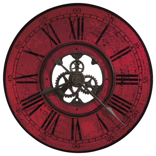 howard miller brassworks ii wall clock