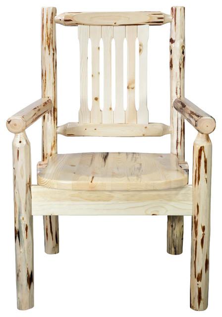Charmant Wooden Captainu0027s Chair