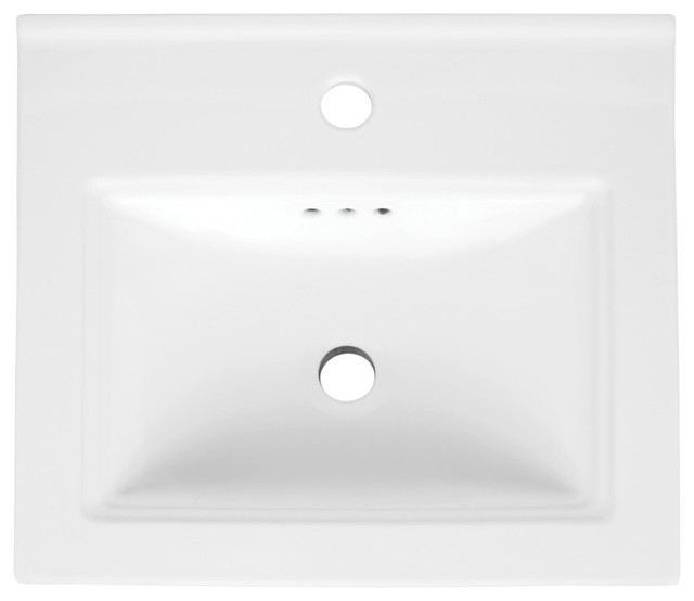 Ronbow 18 Verge Sink Top Contemporary Bathroom Sinks By Ronbow Corp