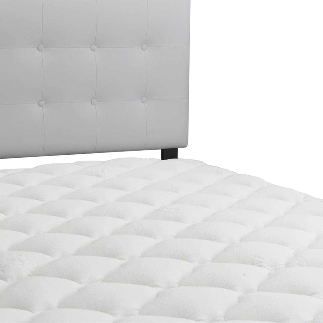 Furinno Angeland Ultra Soft Microplush Mattress Topper