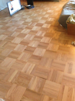Here Are Two Pics: One Of The Old Honey Poly Floors, And The Next Is The  Natural Raw Unfinished Floor.