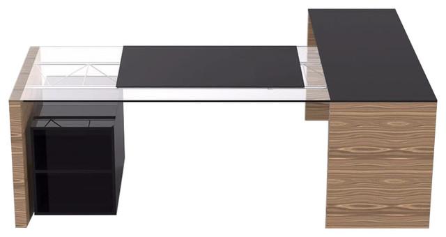 Iris Executive Corner Desk, Medium