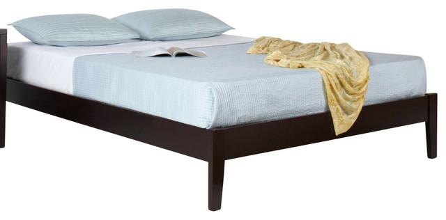 Modus Simple Platform Bed In Espresso Twin