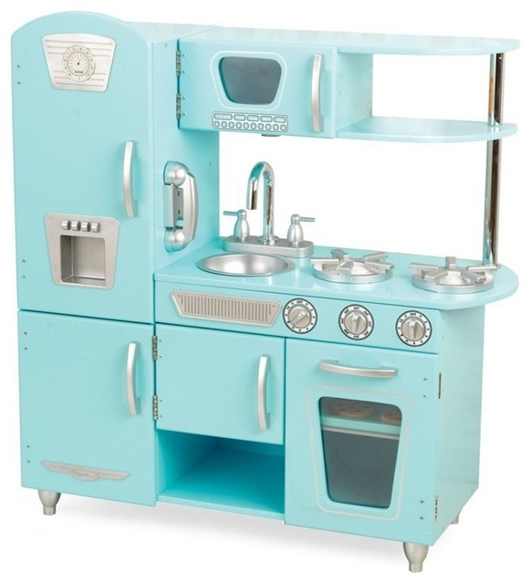 blue vintage kitchen - Kidkraft Vintage Kitchen