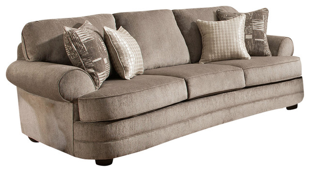 Delicieux Kingsley Pewter Sofa