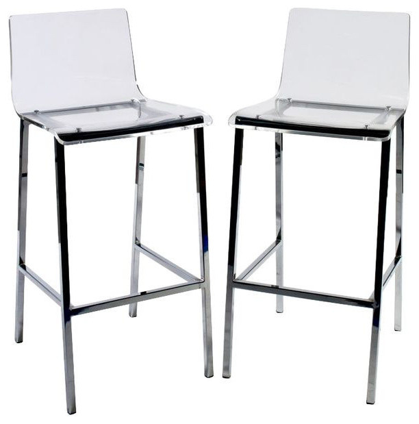 Pair of CB2 Vapor Barstools - $400 Est. Retail - $120 on - SOLD OUT - Cb2 Bar Stools Show Home Design