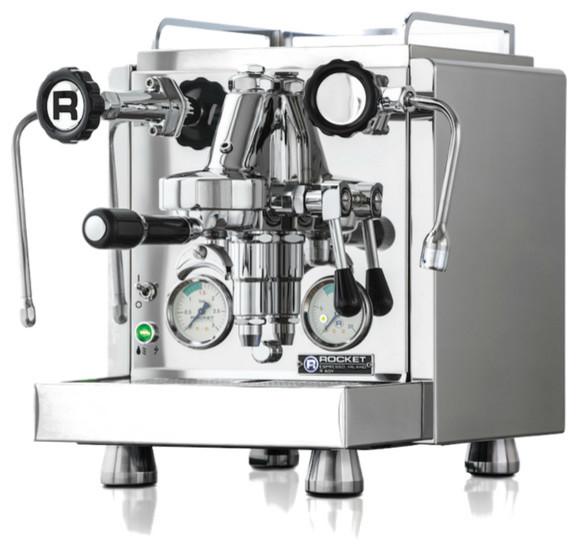 Rocket Espresso R60v Espresso Machine, Silver.