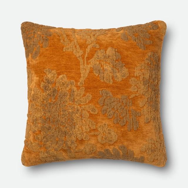 "Loloi Dr. G Decorative Pillow, Aura, Poly Insert, 22""x22""."