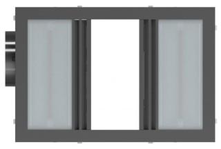 Kado Lux - 3 in 1 Heat Lamp Exhaust Silver