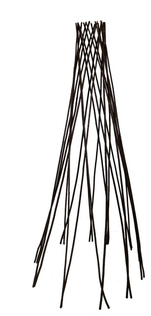 "Willow Round Teepee Trellis, 60""h."