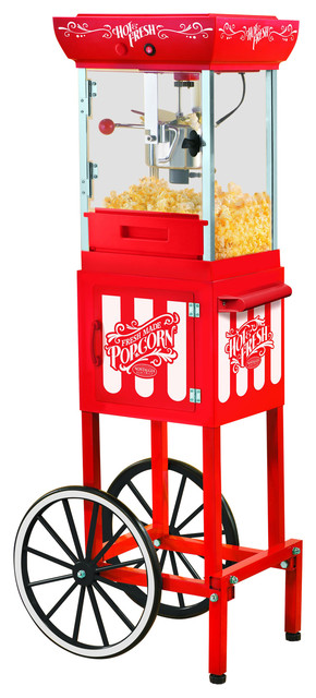 Nostalgia Old Fashioned 2.5-Ounce Kettle Popcorn Cart, 48.