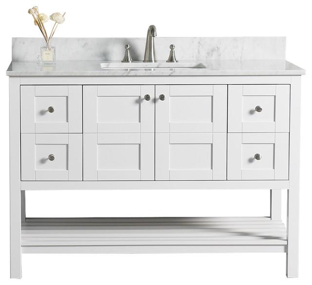 Woodbridge 48 Solid Wood Vanity With