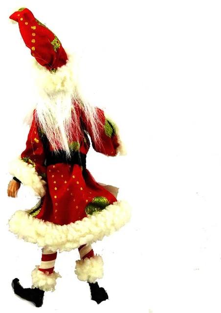 Christmas Santa Flexible Figure Fabric 68839.