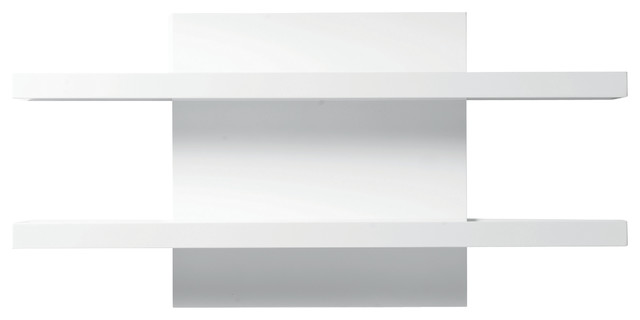 Cargo Wall Shelf High Gloss White