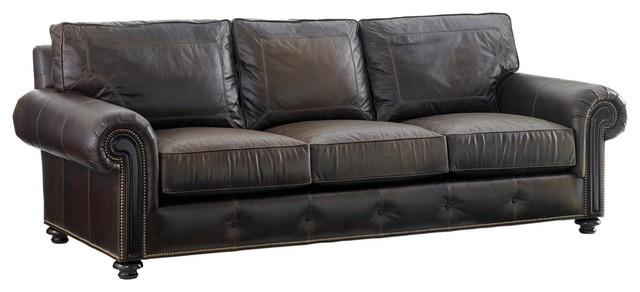 Lexington Kilimanjaro Riversdale Leather Sofa.