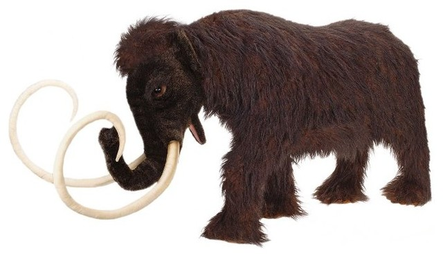 Hansa Creations Ride On Mammoth Stuffed Animal View In
