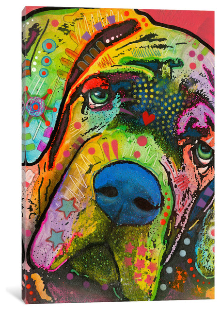 Quot Mastiff Quot By Dean Russo 12x8x0 75 Quot Paintings By Icanvas