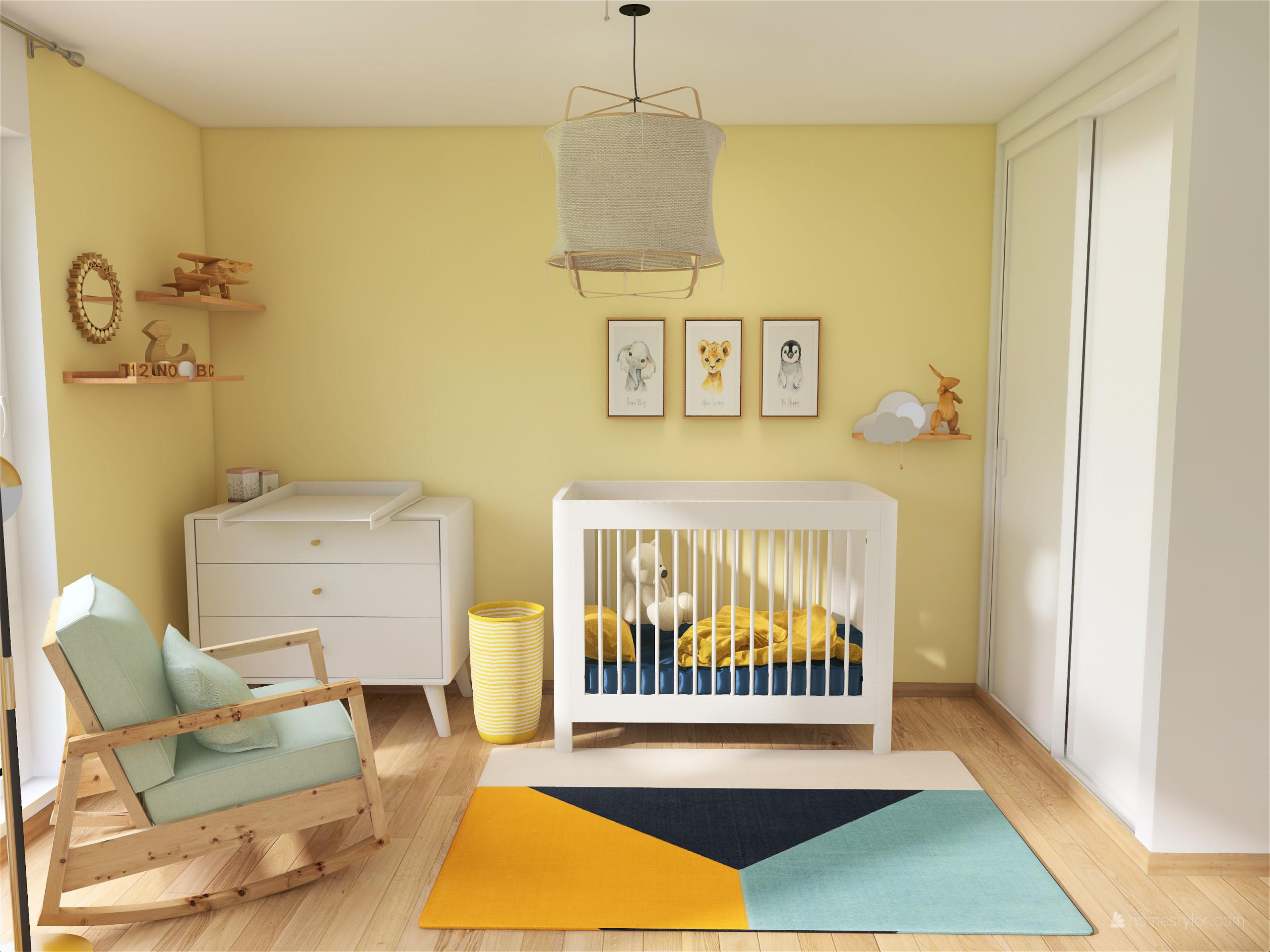 Projet ALFORTVILLE - Création d'une chambre de bébé