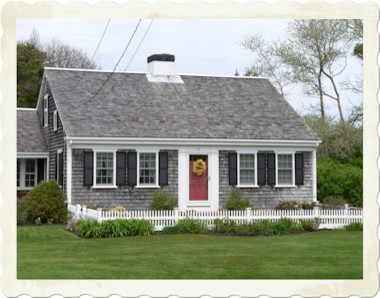 Exterior window trim alternatives to shutters for Front doors for cape cod style homes