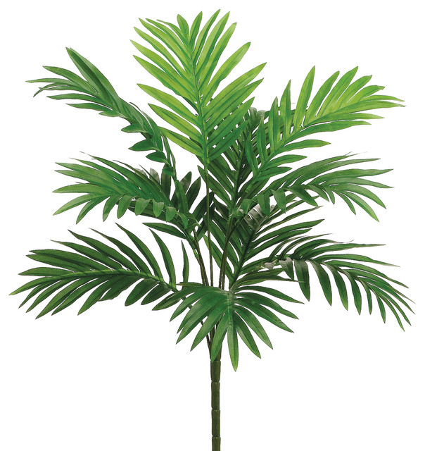 Silk Plants Direct Areca Palm Plant Pack Of 12 Traditional