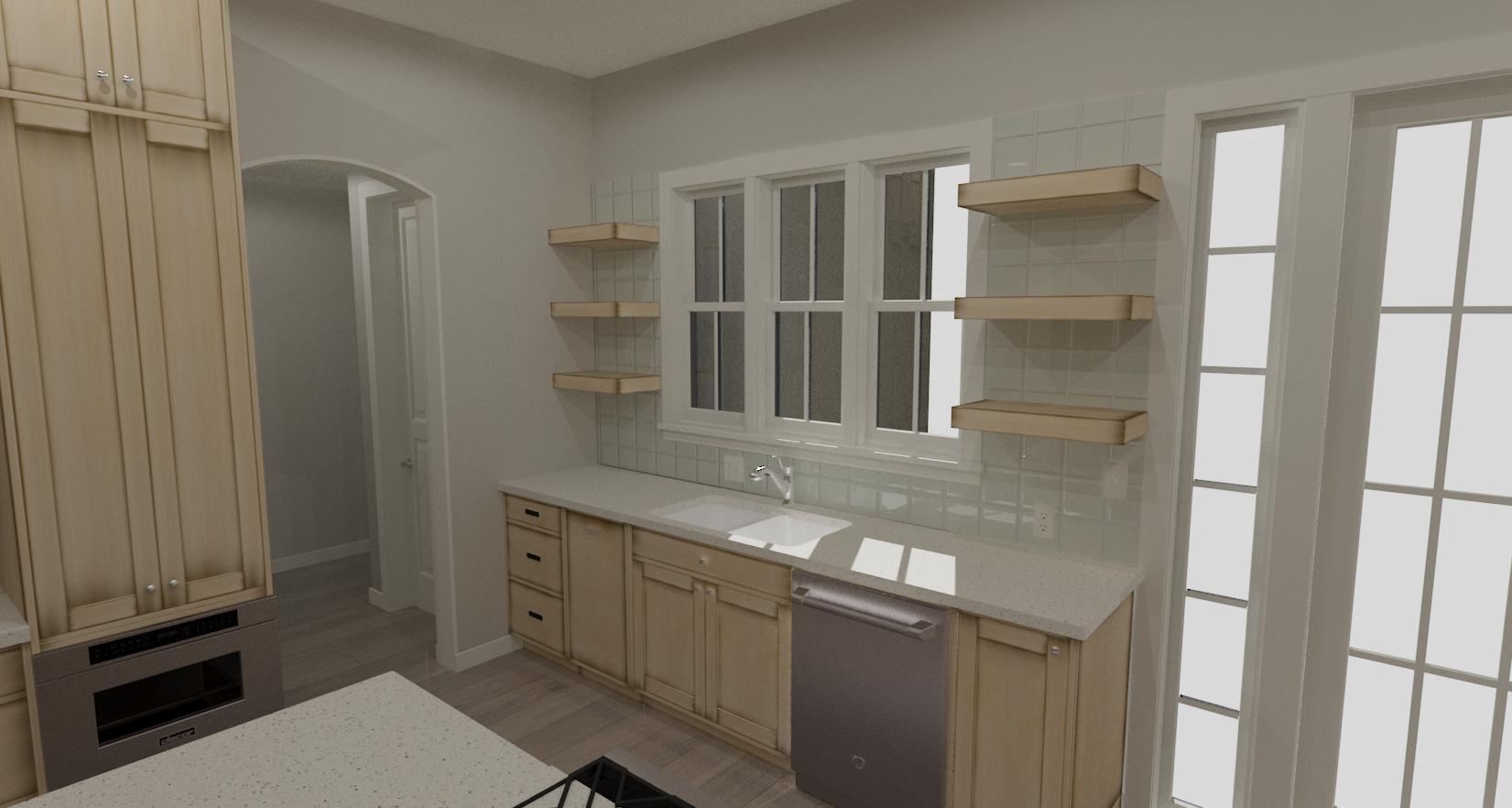 Eagle Harbor Kitchen Remodel