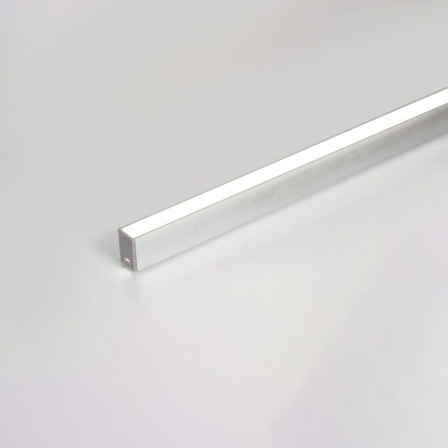 WAC Lighting LED-T-CH1 Deep Aluminum Tape Light Channel - Contemporary - Undercabinet Lighting ...
