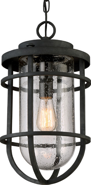Luxury Nautical Black Outdoor Pendant Light Large Uql1004 Cape Town Collectio