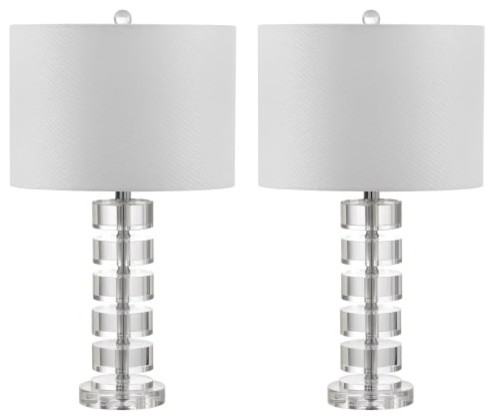 Safavieh Lit4364a-Set2 Frances Table Lamp.