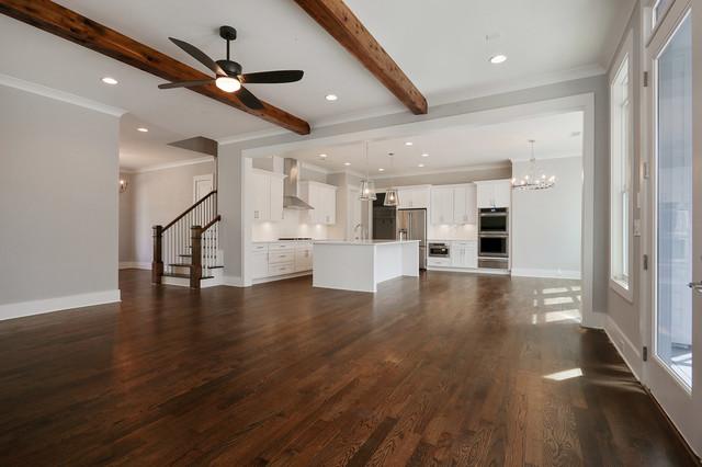Inspiration for a farmhouse home design remodel in Atlanta