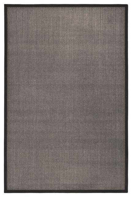 Dimas Natural Fibre Rug, Charcoal, 90x150 cm