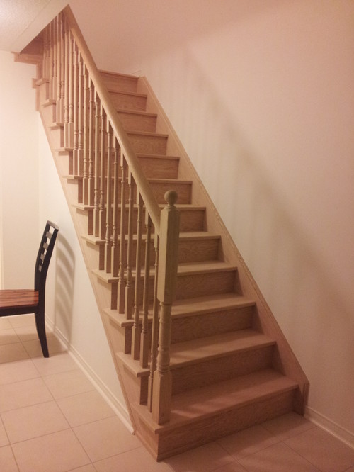 Stairs: White Risers? White Spindles? Or Both?
