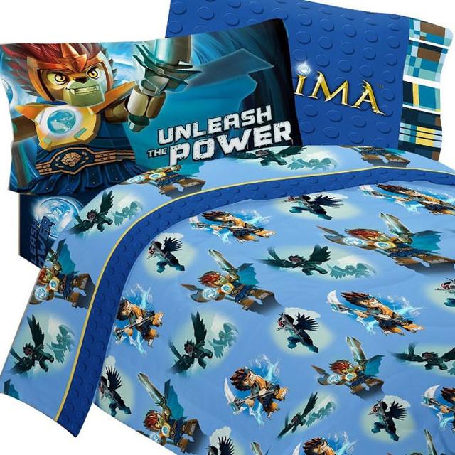 lego legends chima laval sheet set 4pc full bedding