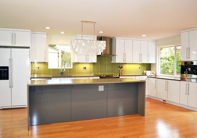 Bellmont Cabinet Co. - Contemporary - Kitchen - seattle ...
