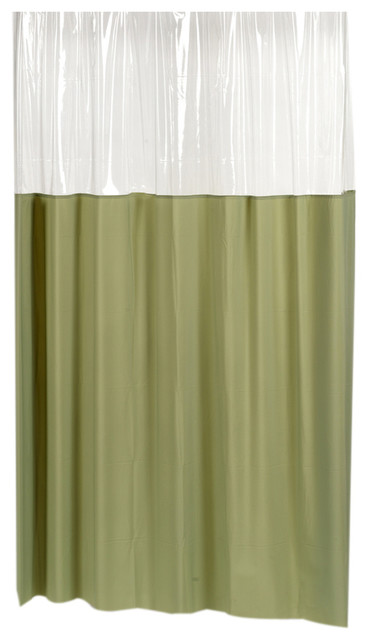Shop Houzz Carnation Home Fashions Carnation Home Fashions Window Vinyl Shower Curtain