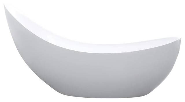 modern acrylic freestanding soaking tub white bathtubs with jets seat free standing bath tubs for small spaces