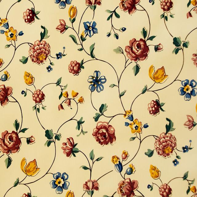 Flower Trail, Self-Adhesive Wallpaper Home Decor Roll - Wallpaper ...