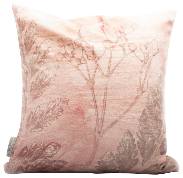 Mother's Pink Bouquet Cushion Cover