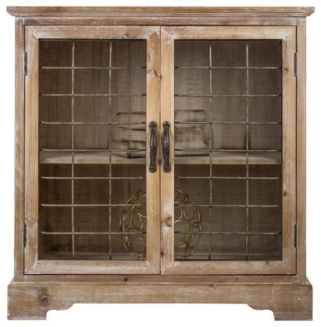 Rustic Farmhouse Storage Cabinet