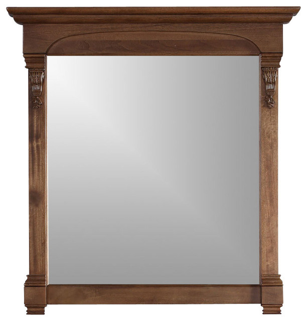 Brookfield 39.5 Mirror, Country Oak.