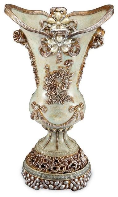 Vintage Rose Vase Victorian Vases By Shopladder