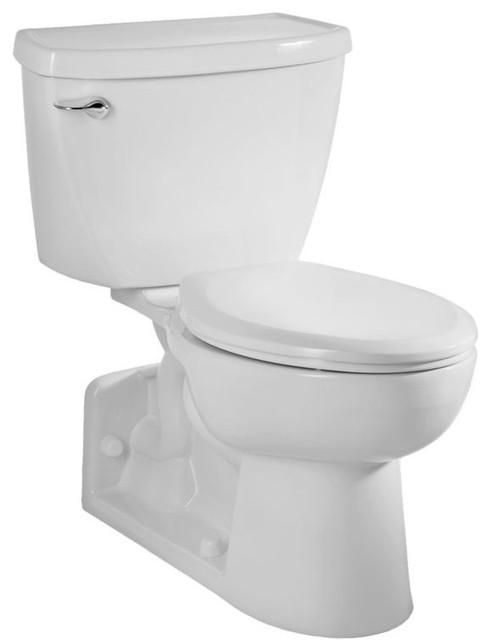 Astonishing American Standard 2876 016 020 Yorkville Elongated Toilet 1 6 Gpf White Machost Co Dining Chair Design Ideas Machostcouk